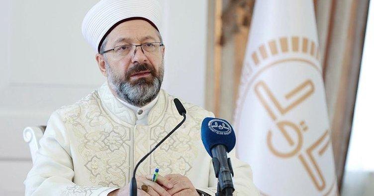 Diyanet İşleri Başkanı Ali Erbaş'tan İslam dünyasına flaş Kudüs çağrısı!