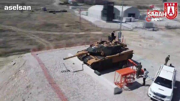 Türk Silahlı Kuvvetleri tankları VOLKAN-M Atış Kontrol Sistemi ile donanıyor   Video