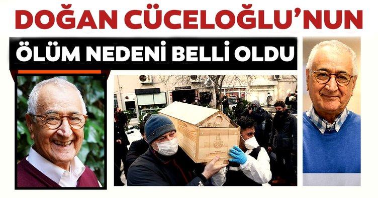 SON DAKİKA: Prof. Dr. Doğan Cüceloğlu'nun ölüm nedeni belli oldu! Beşiktaş'taki evinde bulunmuştu...