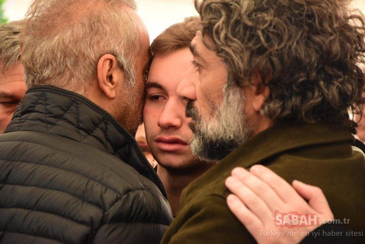 Zafer Çika'ya veda: Demet Akbağ'ın acısı yürek dağladı! Zafer Çika son yolculuğuna uğurlandı!
