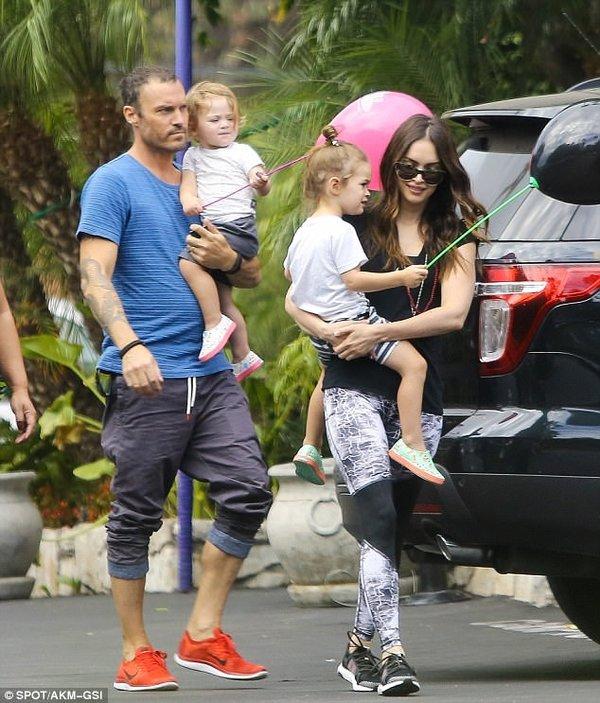 Megan Fox ve eşi yeniden birlikte!