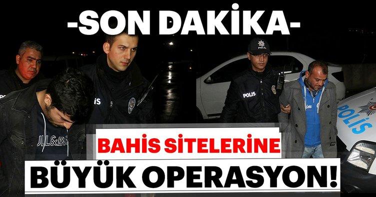 Son Dakika   İstanbul Merkezli 40 ilde bahis sitelerine yönelik operasyon başlatıldı!