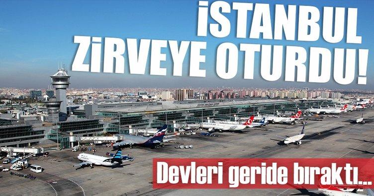 İstanbul'un havalimanları ilk üçe girdi
