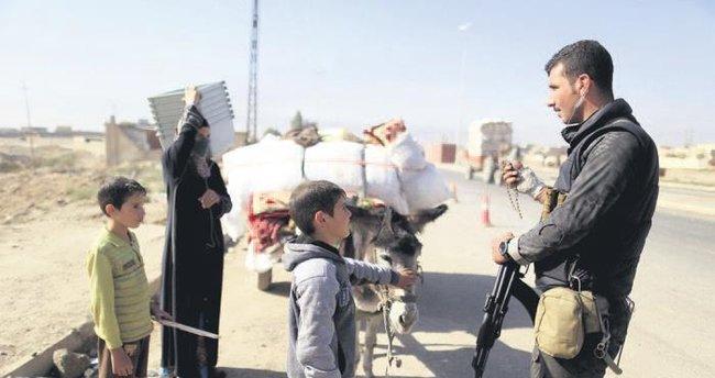 Musul'da çatışmalar arttı binlerce sivil kaçıyor