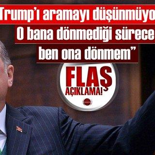 Son Dakika Haberi: Cumhurbaşkanı Erdoğan'dan flaş açıklama!