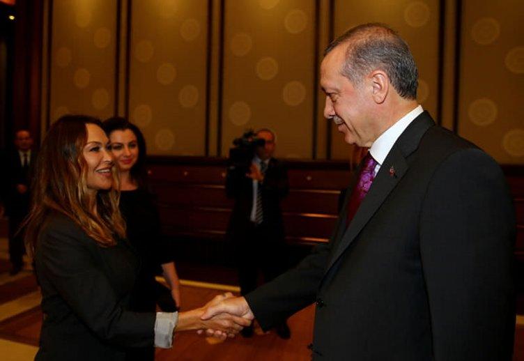 Cumhurbaşkanı Erdoğan TİKAD üyelerini kabul etti