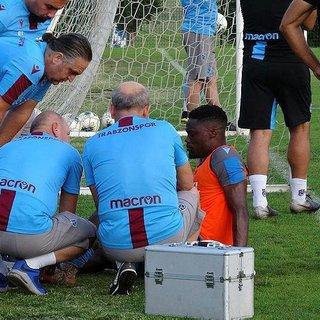 Trabzonspor'da Caleb Ekuban şoku
