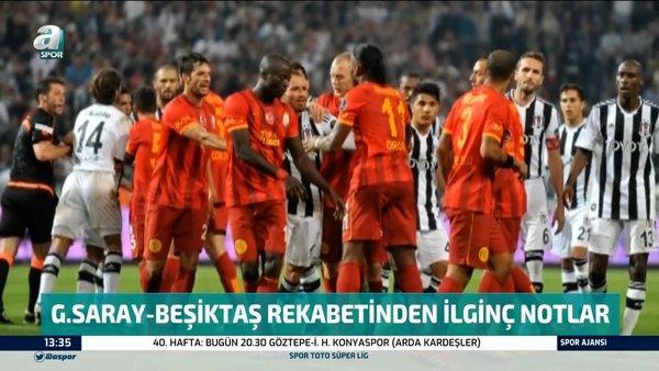İşte Türk futbol tarihine geçen Galatasaray - Beşiktaş derbileri ve maçlarda yaşanan unutulmaz ilginç olaylar