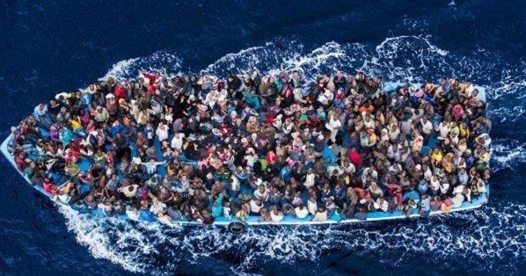 Akdeniz'de göçmenleri taşıyan bot alabora oldu!