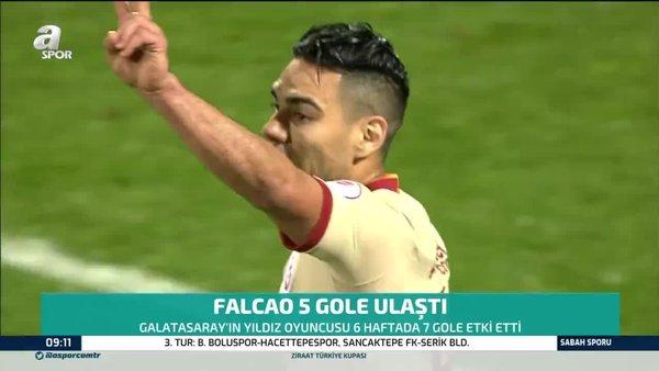 Radamel Falcao gol sayısını 5'e çıkarttı!