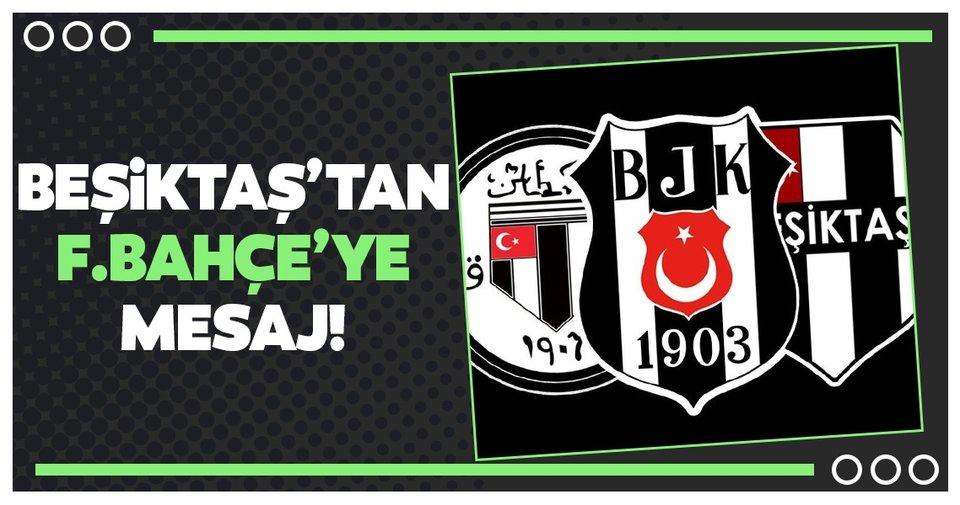 SON DAKİKA | Beşiktaş'tan Fenerbahçe'ye corona virüsü mesajı!