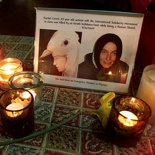 Rachel Corrie ABD'de anılıyor