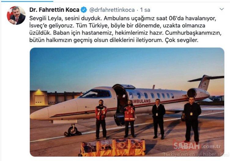 Leyla'nın son dakika çağrısıyla Türkiye harekete geçti! İsveçli görevliler şaşırıp kaldı;  İşte tarihe geçen merhamet operasyonu