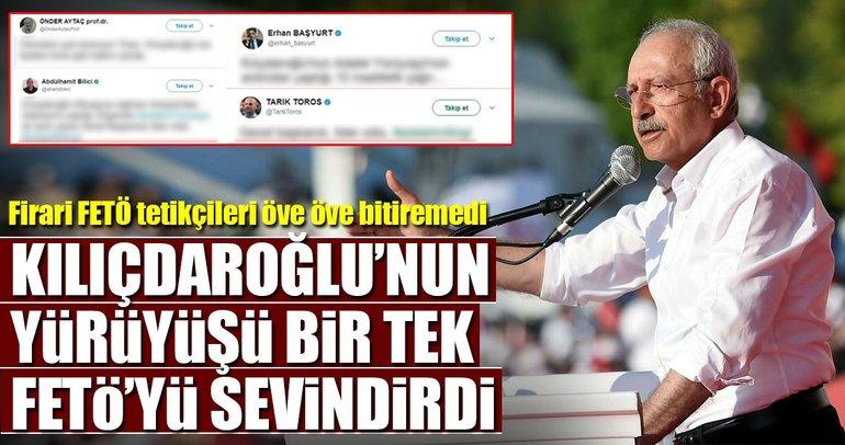Kılıçdaroğlu konuştu FETÖ sevinçten uçtu