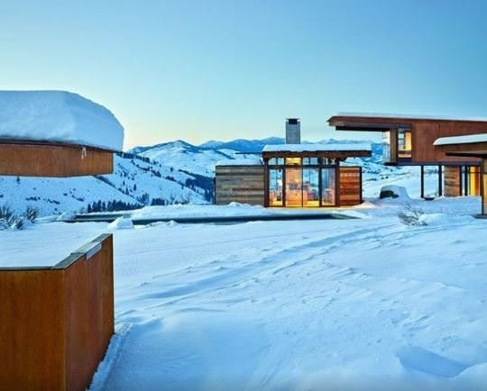 Dünyanın en güzel dağ evleri