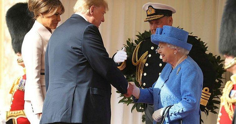 Trump, İngiltere Kraliçesi 2. Elizabeth'in 94. yaş gününü kutladı
