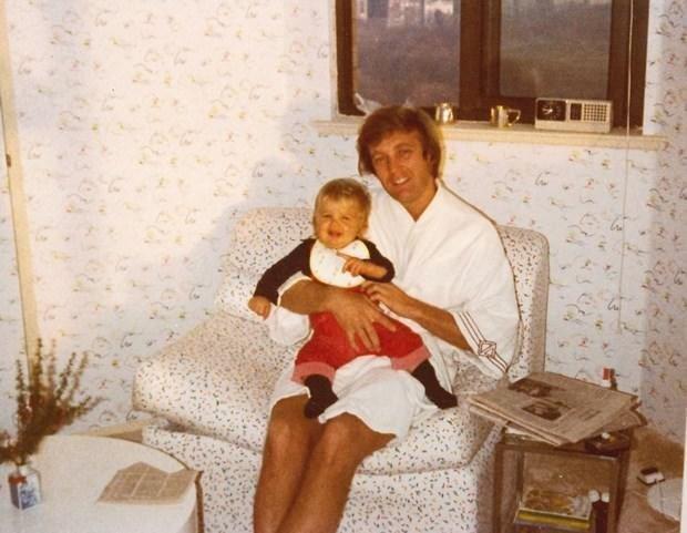 Donald Trump'ın aile albümünden özel fotoğraflar