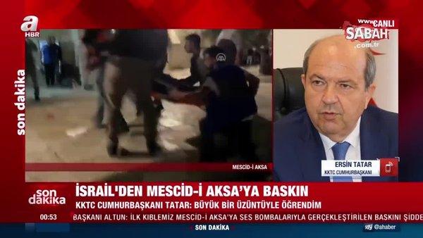 KKTC Cumhurbaşkanı Ersin Tatar: Mescid-i Aksa yaşananlar bize Kıbrıs'ta yaşananları hatırlattı