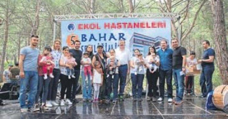 Ekol Hastaneleri'nden bin kişilik bahar şenliği