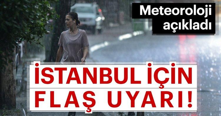Meteoroloji'den İstanbul için son dakika hava durumu uyarısı! Meteoroloji'nin son hava durumu tahminleri