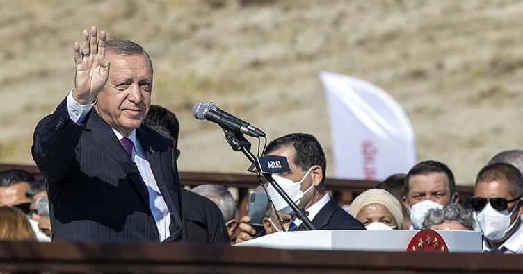 Başkan Erdoğan: Ne terör örgütlerinin saldırıları ne ekonomik tetikçilerin saldırıları bize engel olamadı