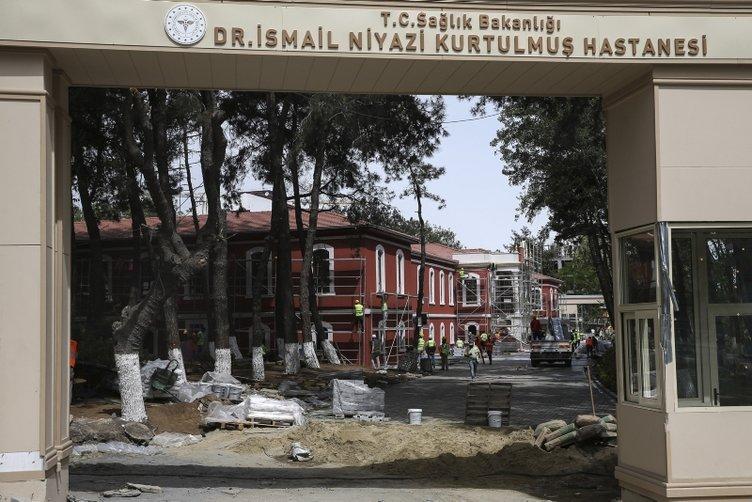 Yeşilköy Prof. Dr. Murat Dilmener ve Hadımköy Doktor İsmail Niyazi Kurtulmuş salgın hastaneleri hizmete giriyor