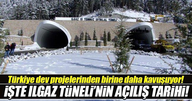 Ilgaz Tüneli 26 Aralık 2016 tarihinde açılıyor!