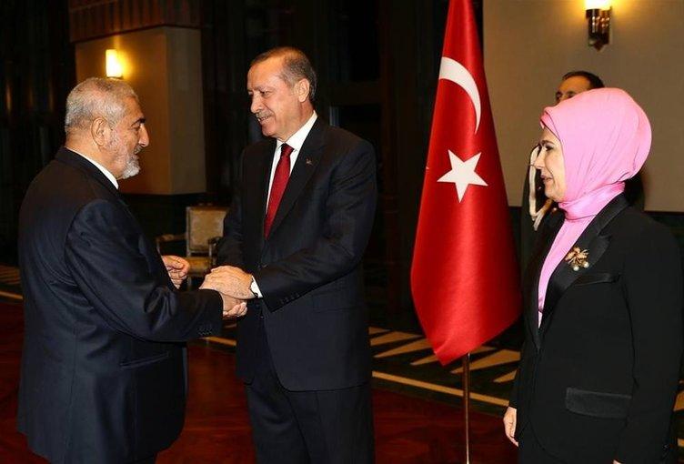 Erdoğan'dan 24 Kasım resepsiyonu