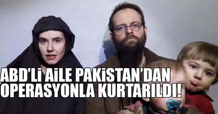 Taliban'ın Pakistan'da 5 yıldır rehin tuttuğu aile kurtarıldı!