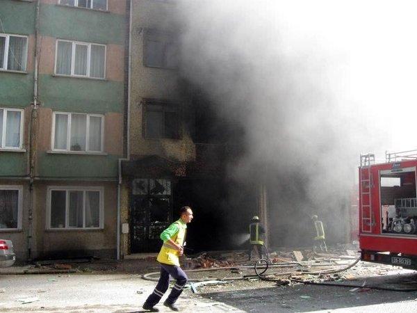 Eskişehir'de patlama