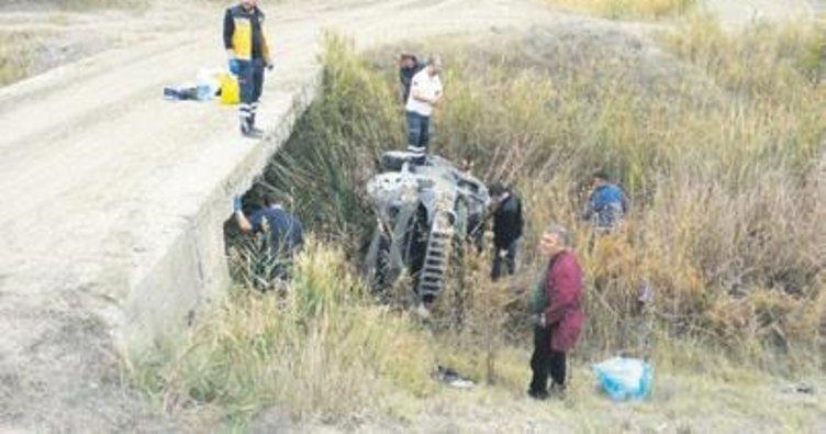 Başhekim Canbay trafik kazası geçirdi