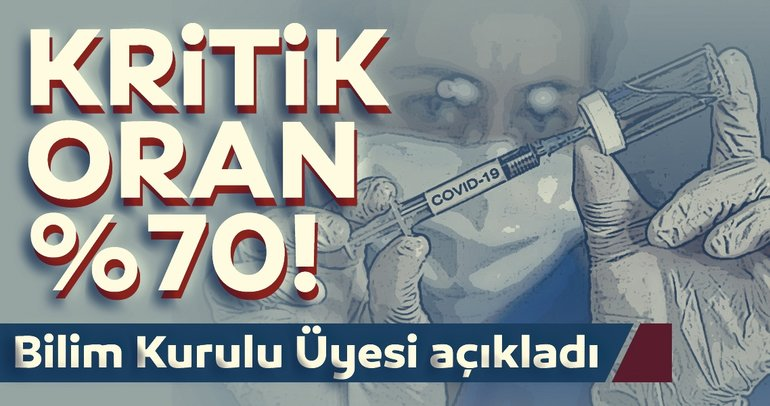 Son dakika haberler: Corona virüs aşısında kritik oran %70! Prof. Dr. Mustafa Hasöksüz'den dikkat çeken aşı açıklaması