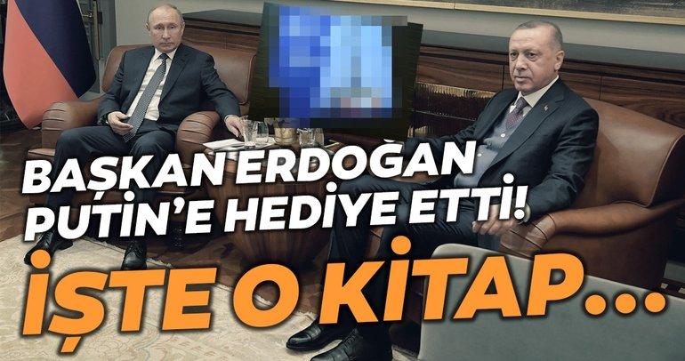 Başkan Erdoğan Putin'e hediye etti! İşte o kitap...