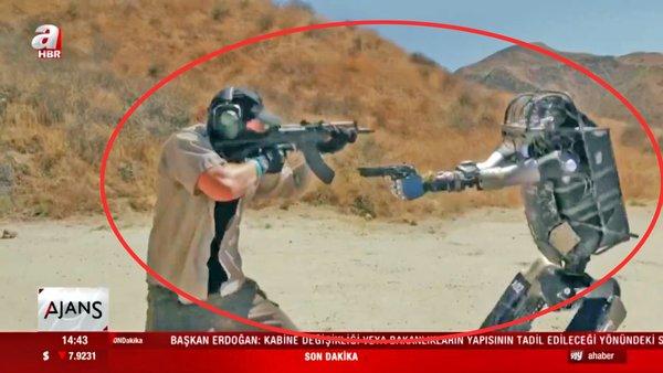 Robot askerler İngiliz Ordusu'nda göreve başlıyor! | Video