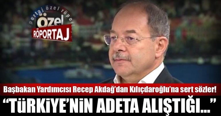Recep Akdağ'dan A Haber'e önemli açıklamalar