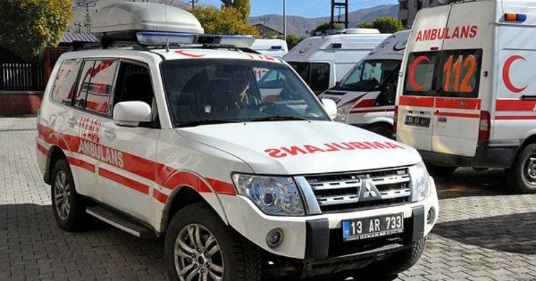 Bitlis'te 112 Acil ekipleri kışa hazır