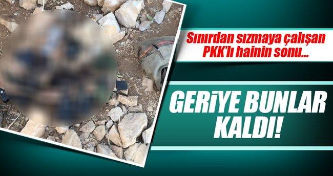 Askeri birliğe sızmaya çalışan terörist öldürüldü