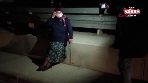 Karabük'te kaçırıldığını zanneden kovidli yaşlı kadın ekiplere zor anlar yaşattı