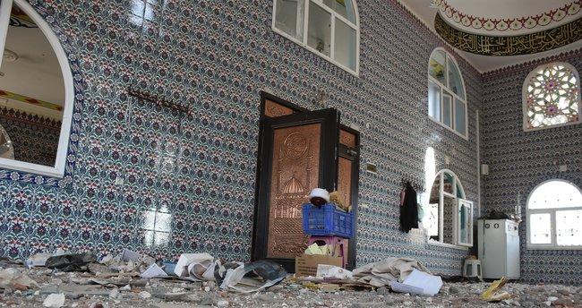 Nusaybin'de 4 cami kullanılamaz hale geldi
