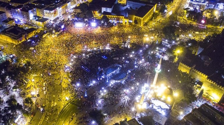 Kayseri'nin 'demokrasi nöbeti' rekoru