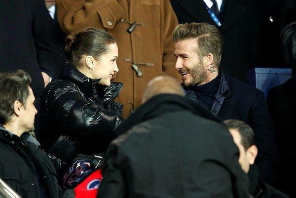 PSG-Real Madrid maçında Bella Hadid rüzgarı