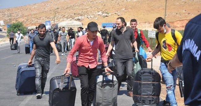 Üç günde 4 bin 513 Suriyeli Hatay'dan çıkış yaptı