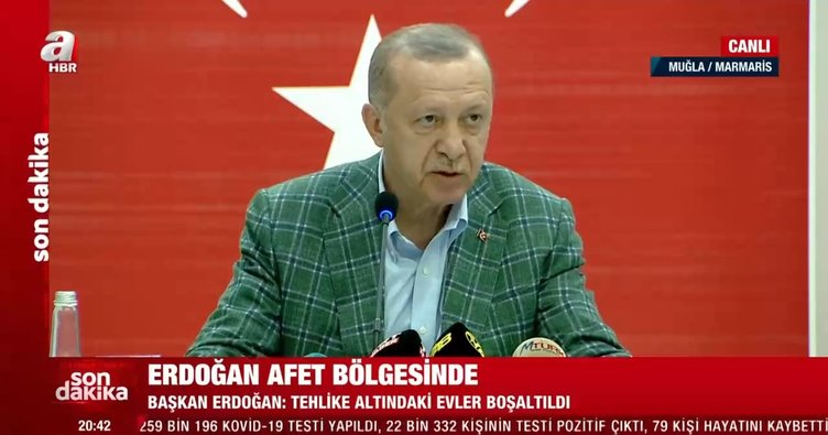 Son dakika: Başkan Erdoğan madde madde sıraladı! İşte afetzedelere yapılacak yardımlar