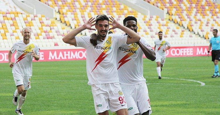 Yeni Malatyaspor geriden gelip Gençlerbirliği'ni devirdi!