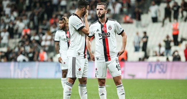 Beşiktaş'a Miralem Pjanic ve Atiba'dan kötü haber geldi! Ajax maçında yoklar...
