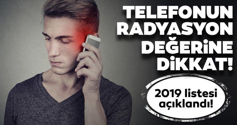 Kullandığınız telefonun radyasyon oranına dikkat! Telefonunuz ne kadar radyasyon yayıyor? İşte o liste açıklandı!