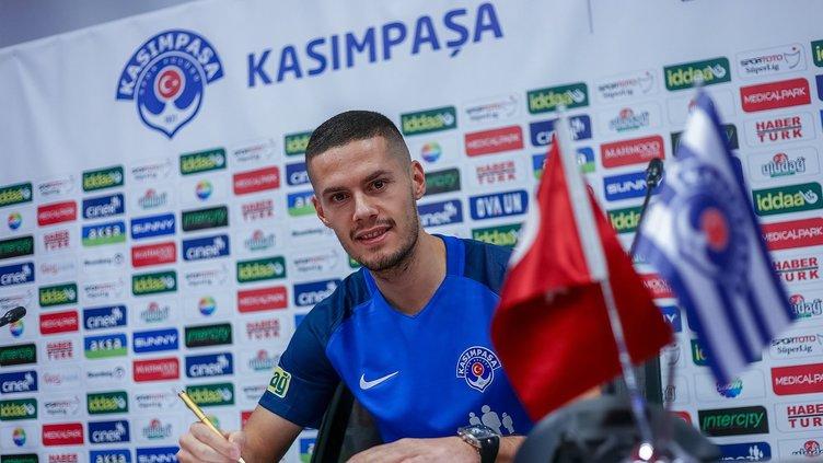 Kasımpaşalı Hajradinovic'ten flaş itiraf! Beşiktaş'ta oynamak istiyorum