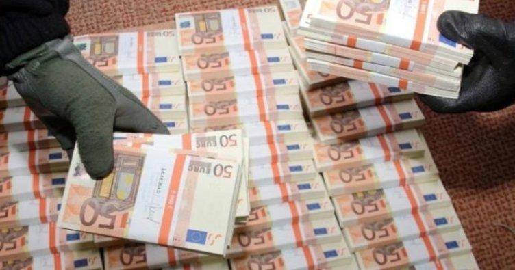 28 milyon euroluk sahte para baskını