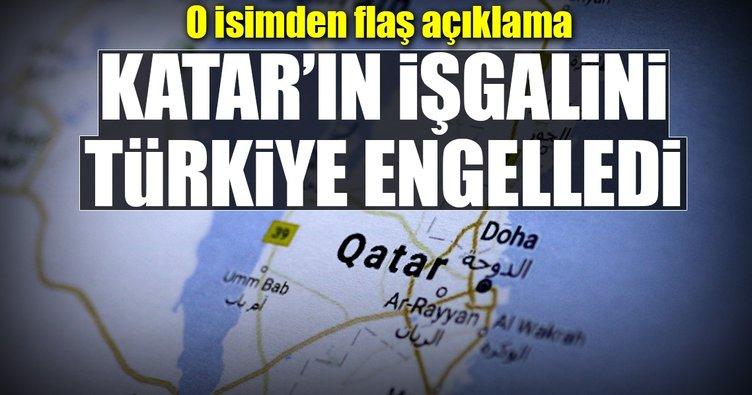 Er-Raysuni: Türkiye Katar'a işgali engelledi