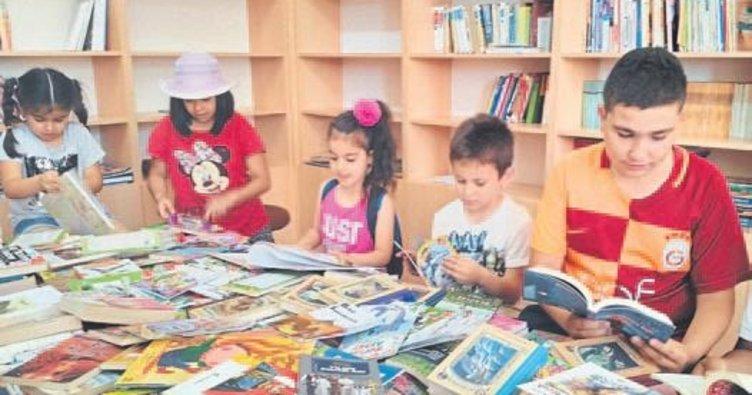 Bağışlanan kitaplar minik okurlarla buluştu